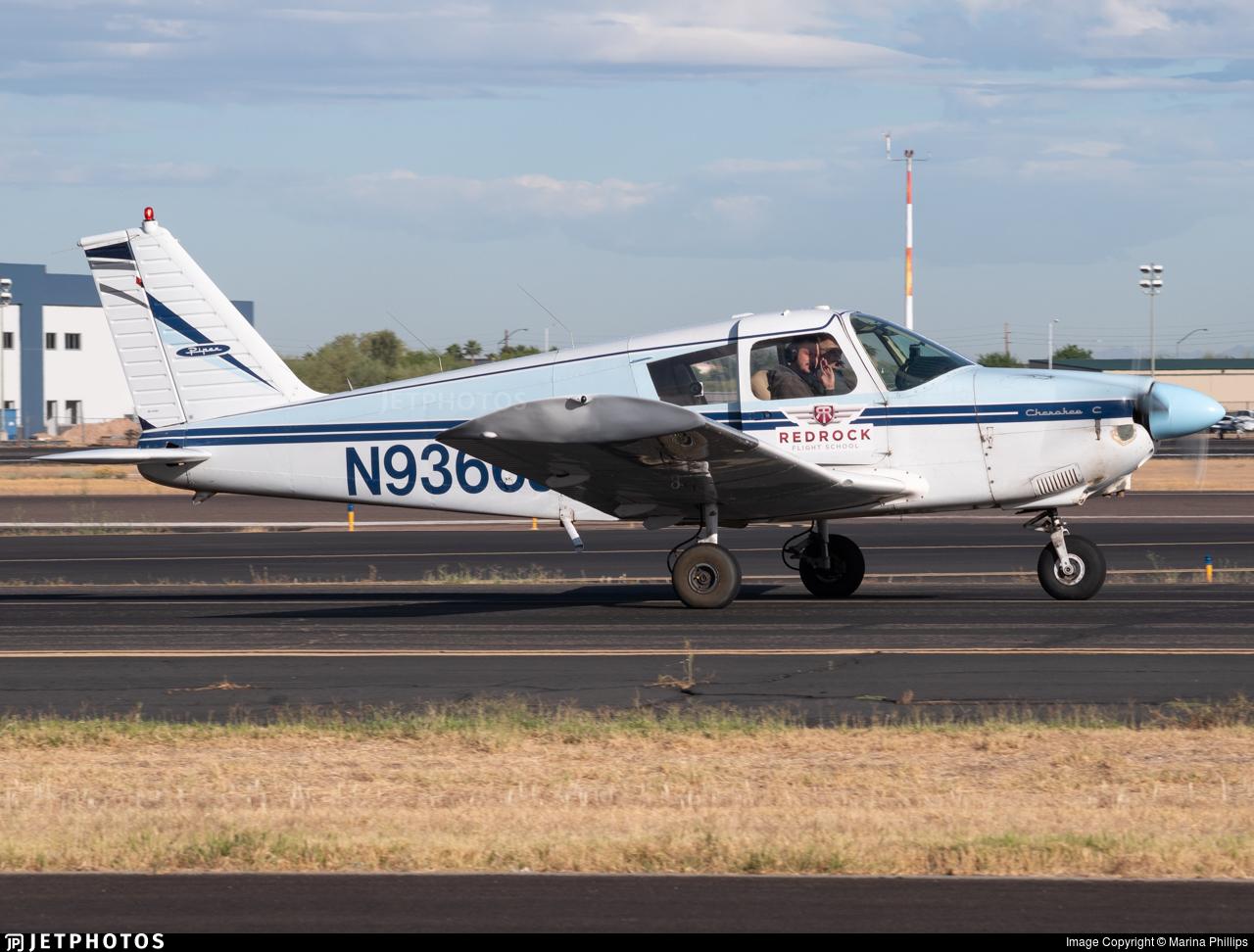 N9366J - Piper PA-28-180 Cherokee C - Red Rock Flight School