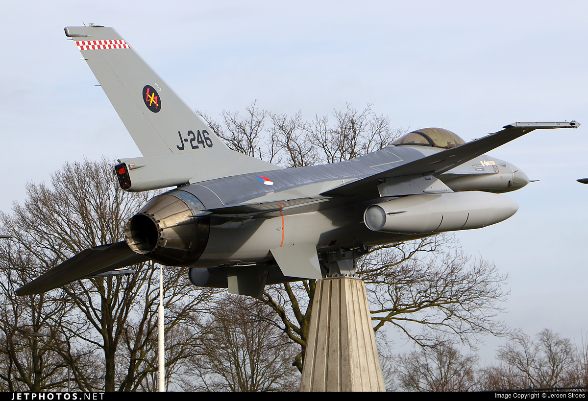 J-246 - General Dynamics F-16A Fighting Falcon - Netherlands - Royal Air Force