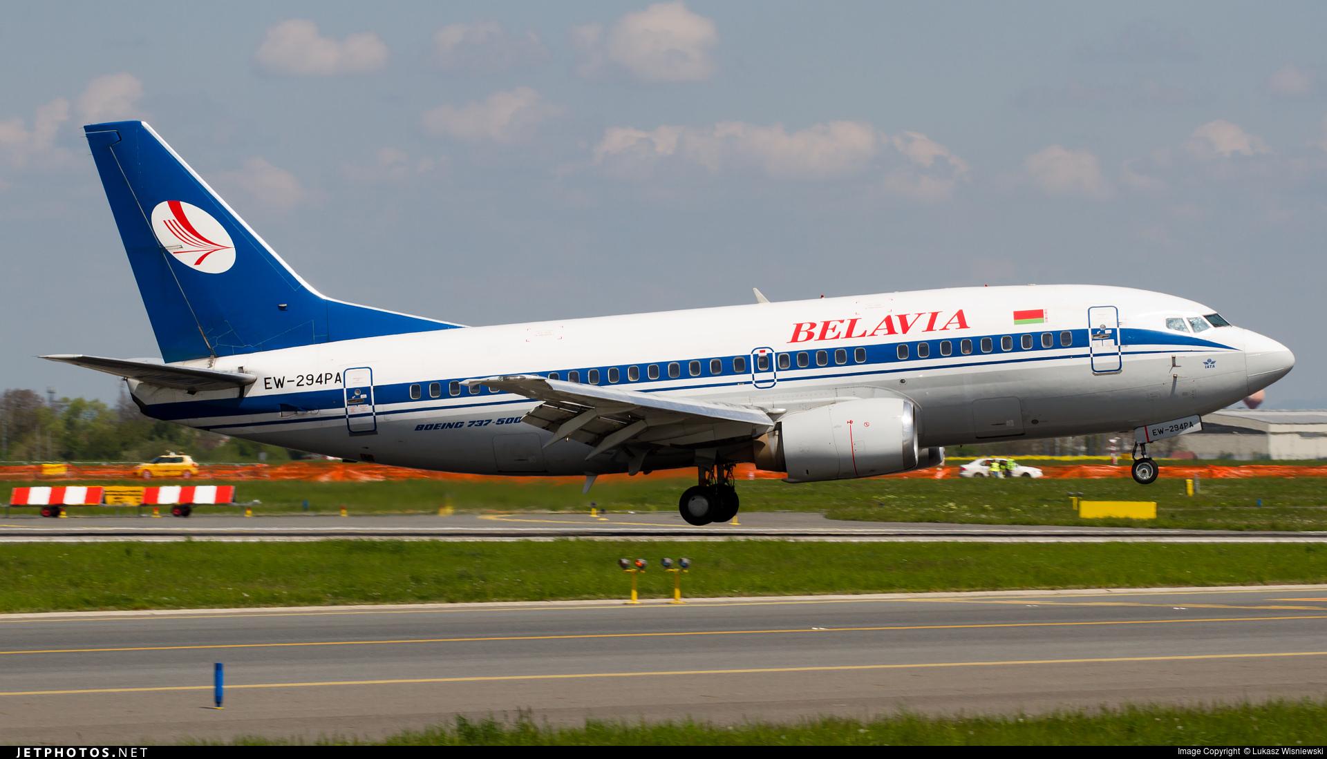 EW-294PA - Boeing 737-505 - Belavia Belarusian Airlines