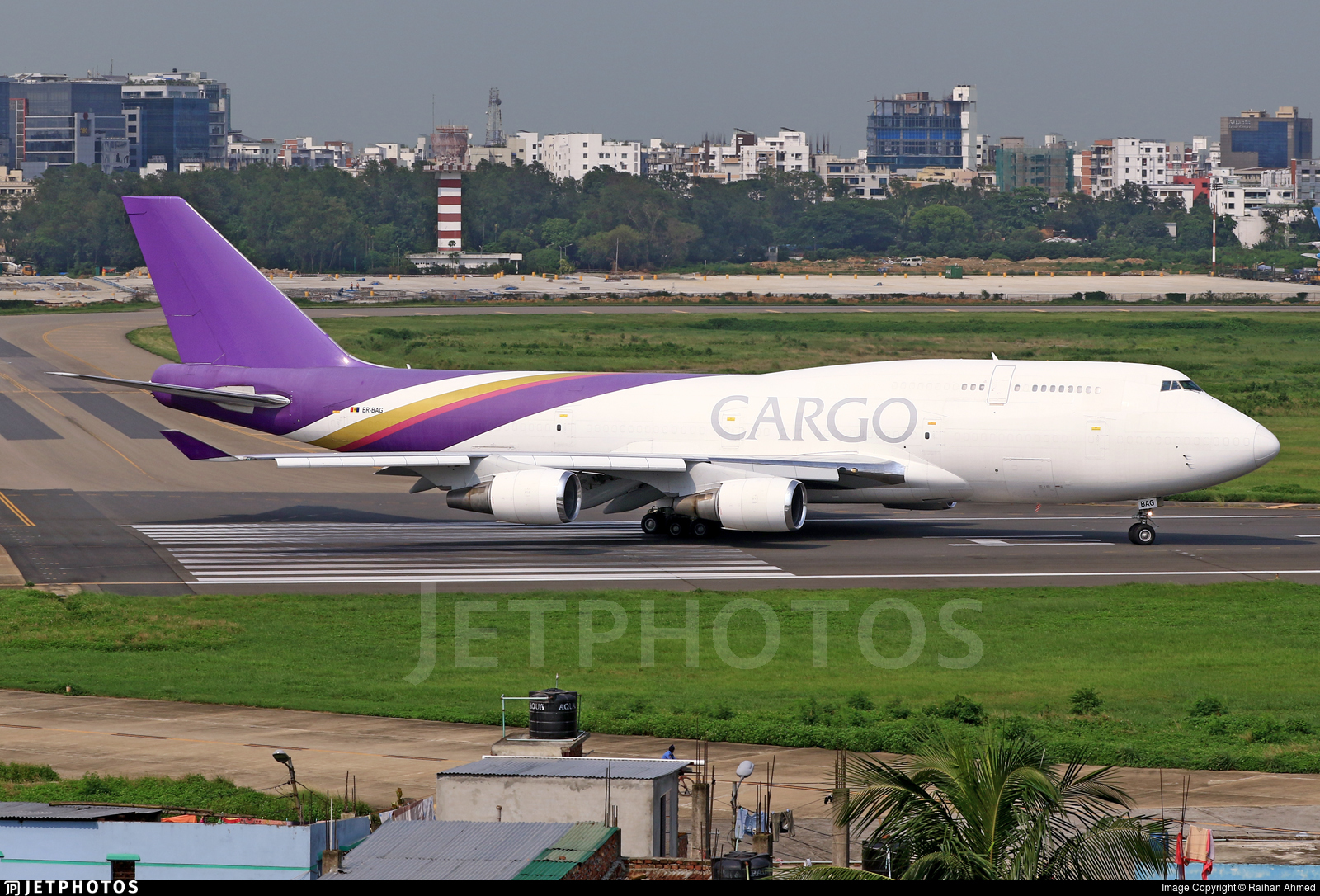 ER-BAG - Boeing 747-4D7(BCF) - Terra Avia
