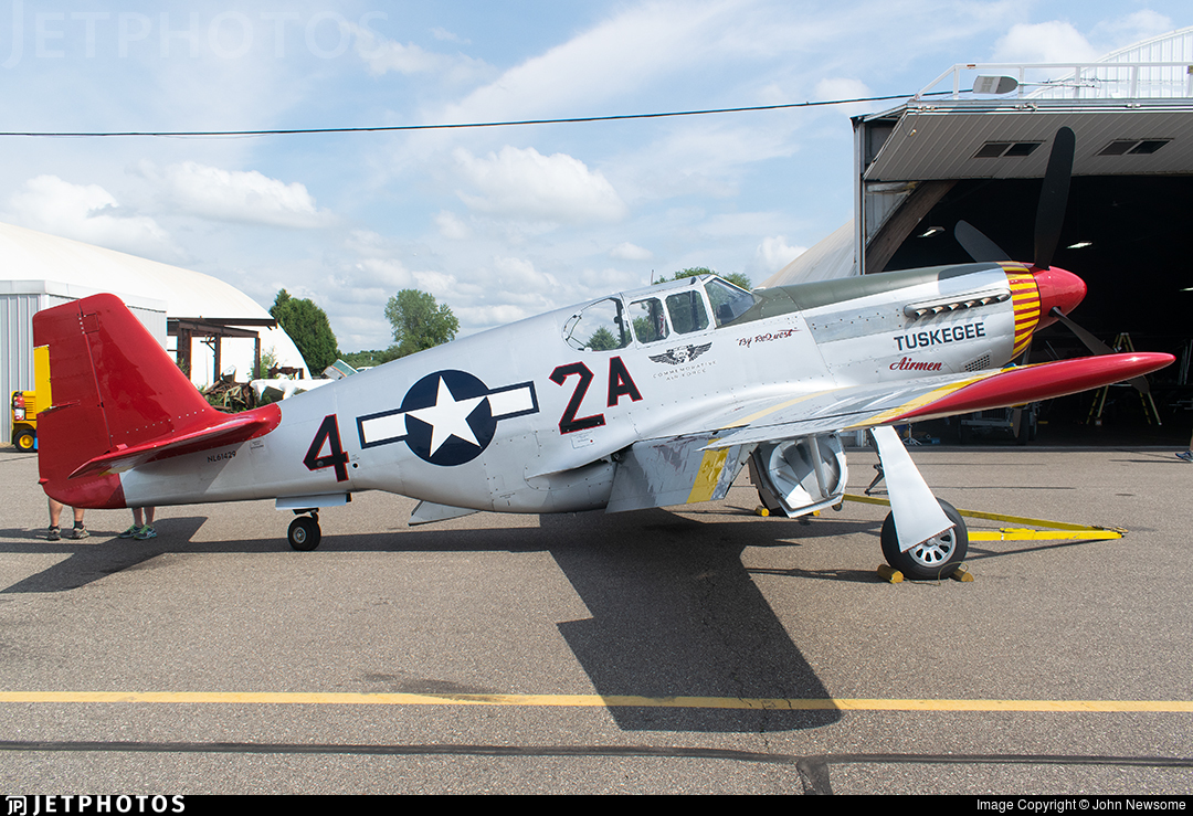 NL61429 - North American P-51C Mustang - Commemorative Air Force