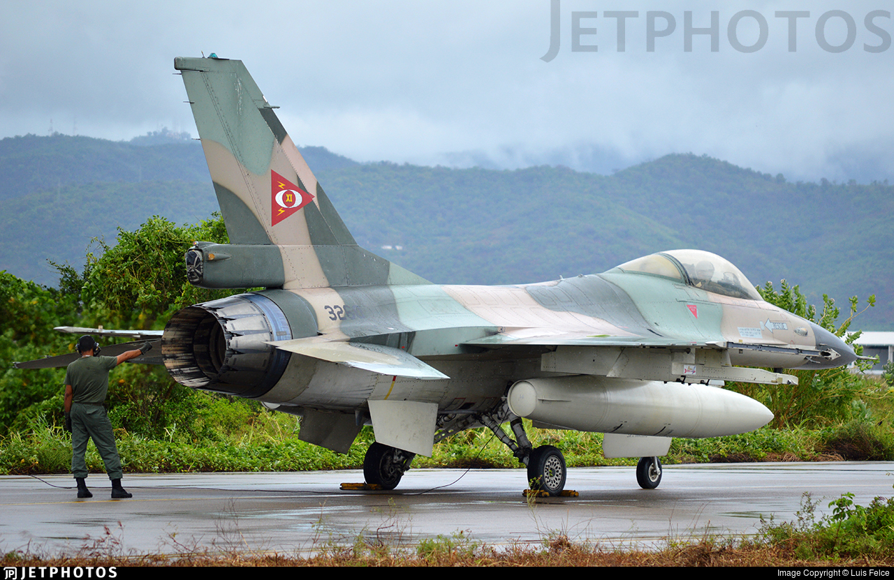 3260 - General Dynamics F-16A Fighting Falcon - Venezuela - Air Force