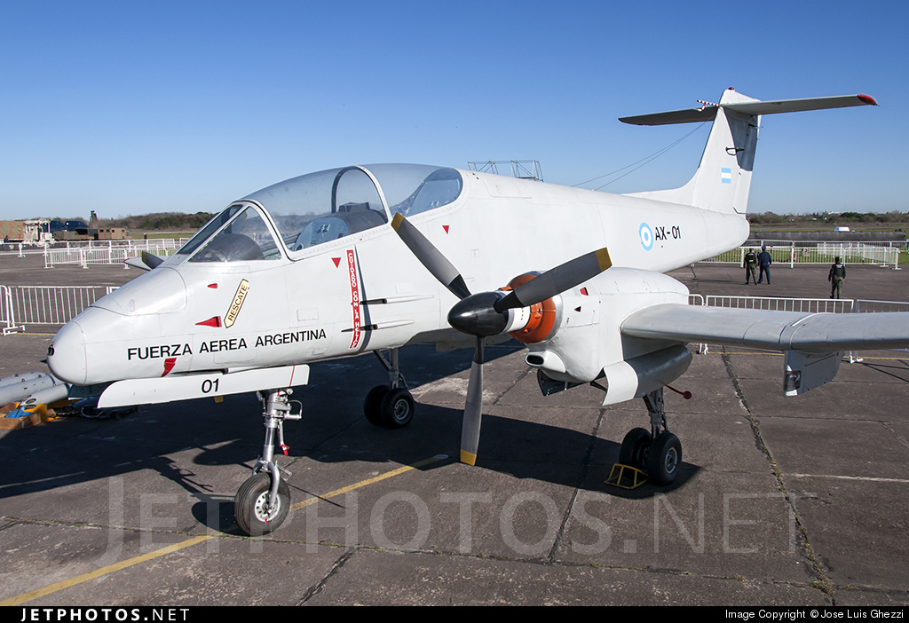 AX-01 - FMA IA-58A Pucará - Argentina - Air Force