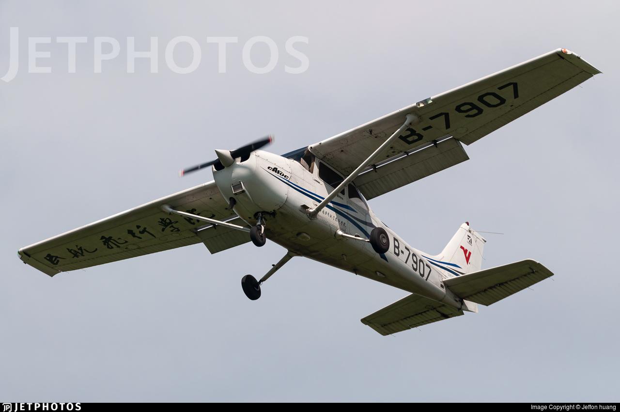 B-7907 - Cessna 172R Skyhawk - Civil Aviation Flight University of China
