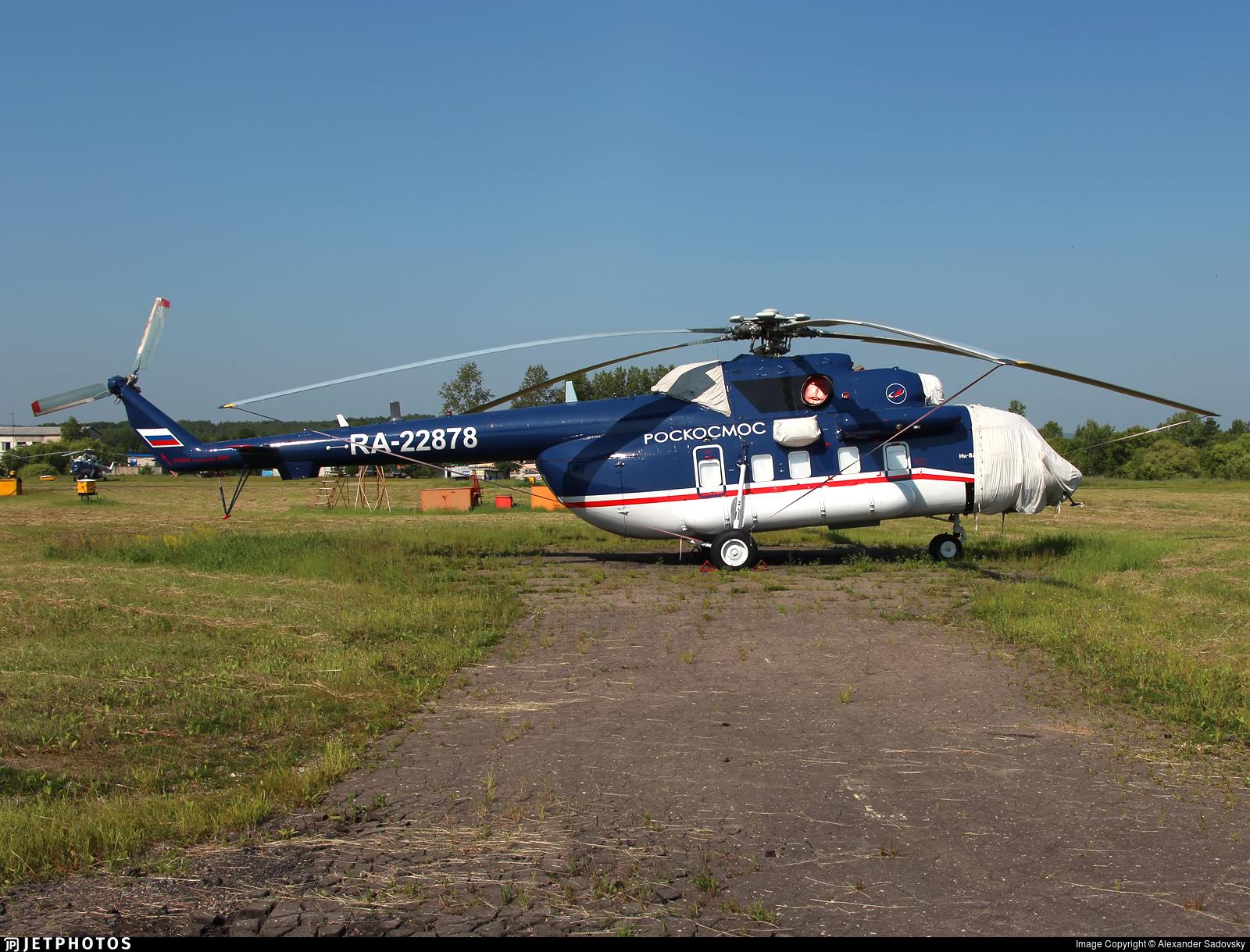 RA-22878 - Mil Mi-8AMT Hip - Russia - Federal Space Agency (Roscosmos)
