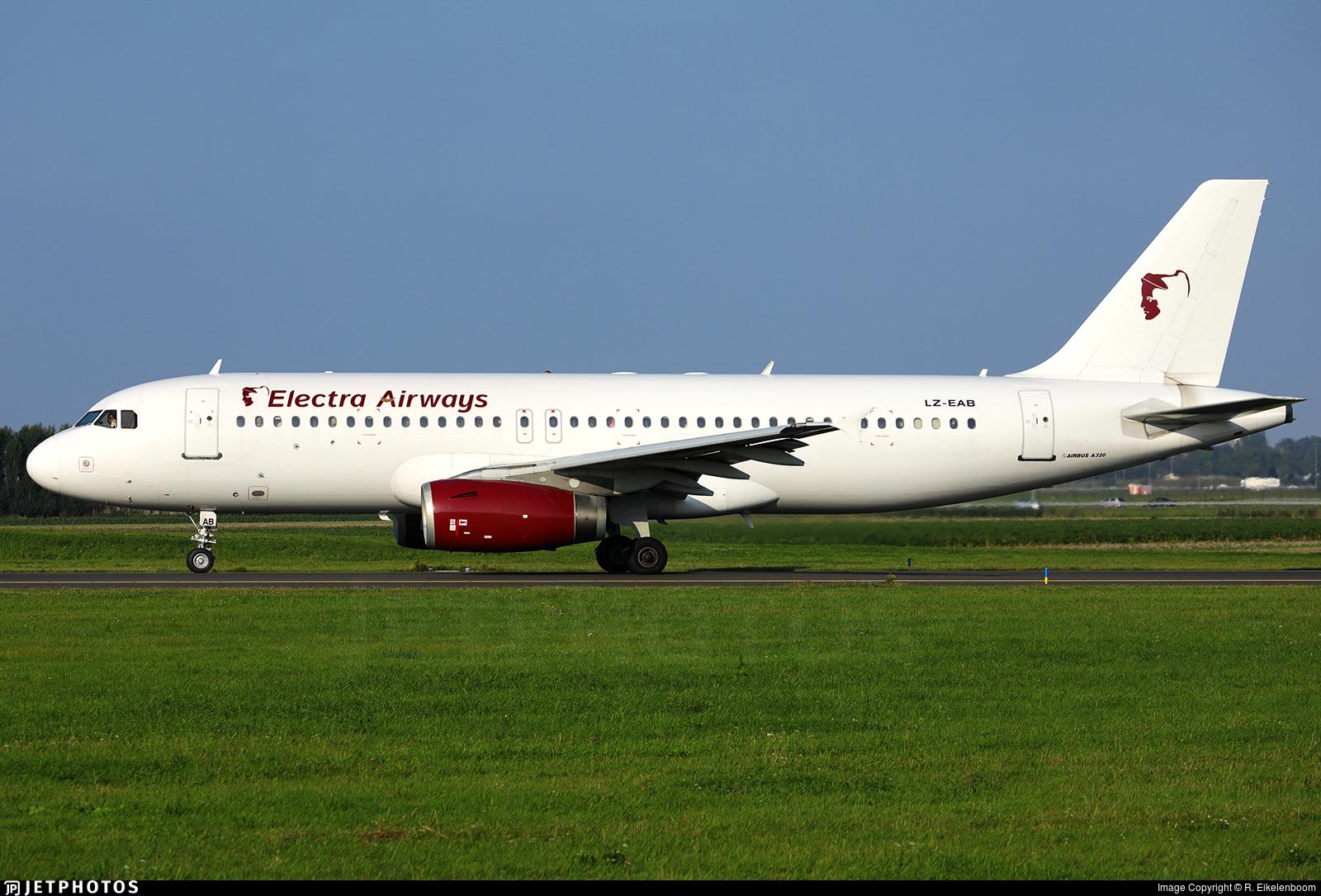 LZ-EAB - Airbus A320-231 - Electra Airways