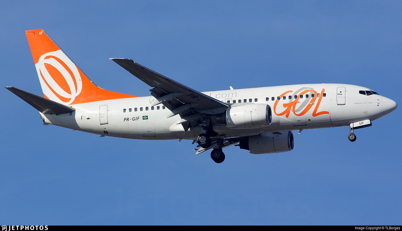 PR-GIF - Boeing 737-73S - GOL Linhas Aéreas