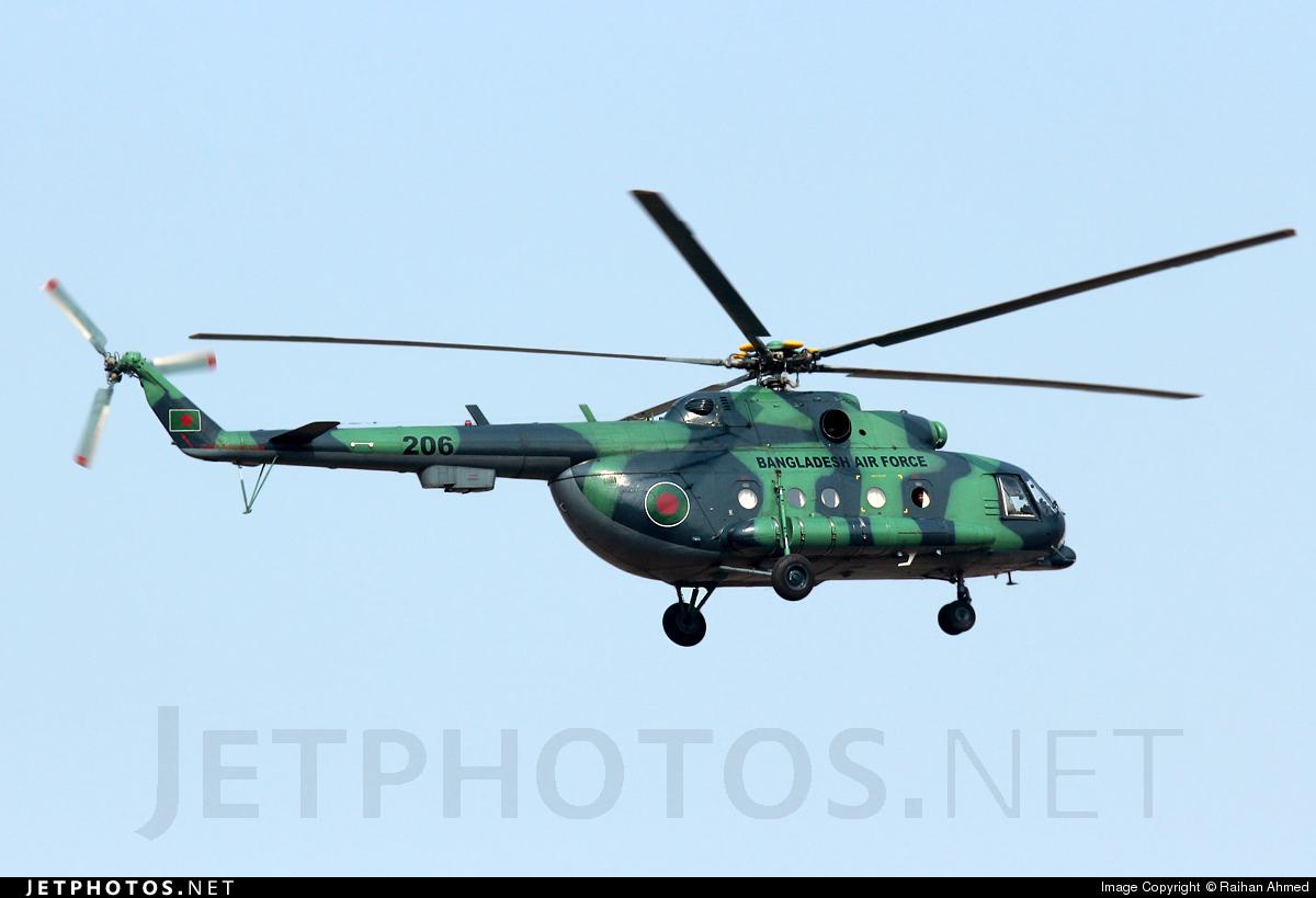 206 - Mil Mi-171Sh Baikal - Bangladesh - Air Force