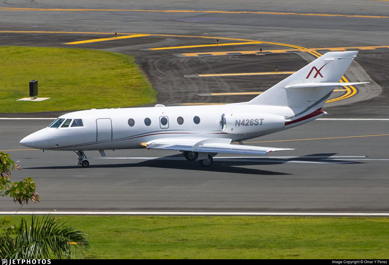 N426ST - Dassault Falcon 20F - Private