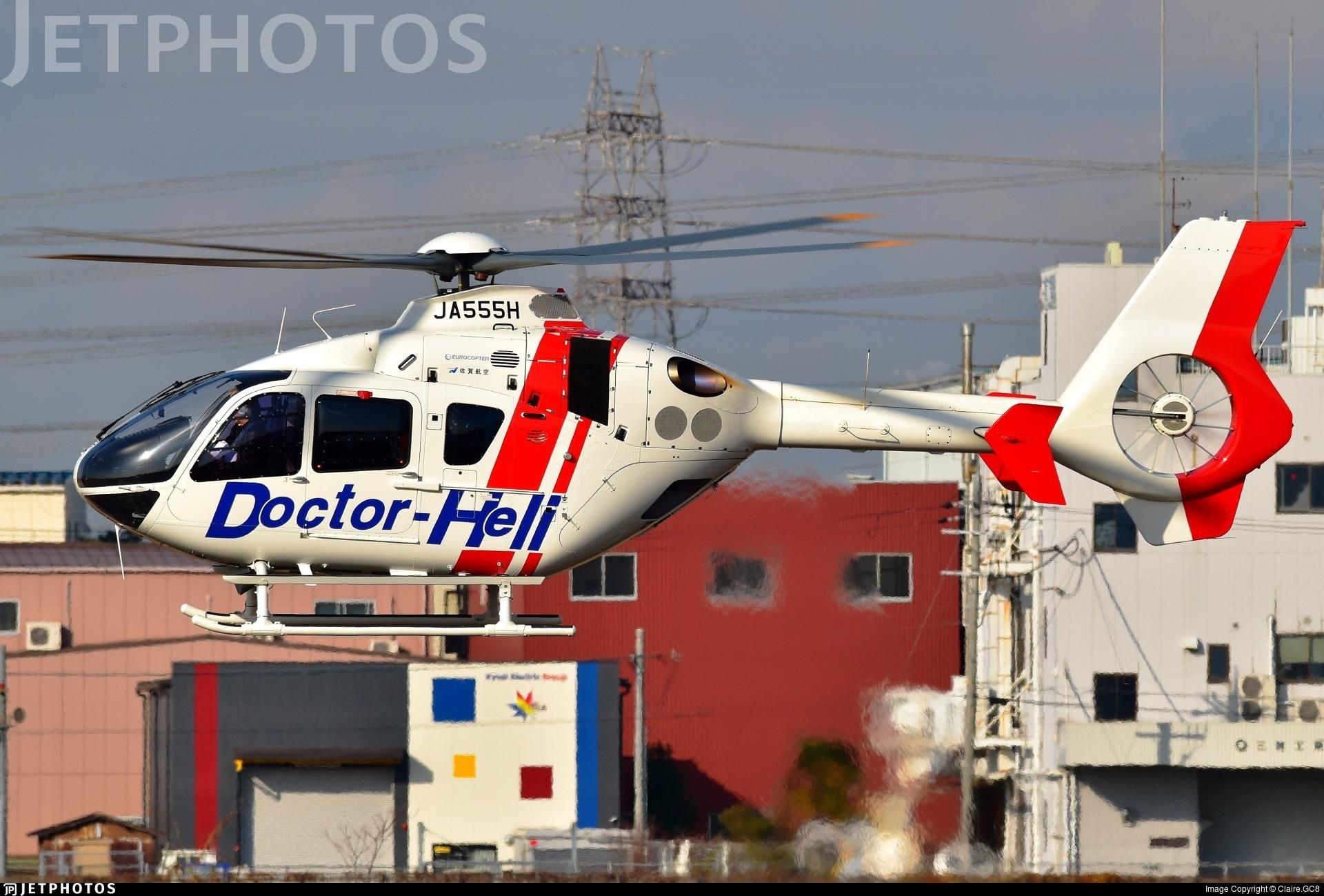 JA555H - Eurocopter EC 135T2+ - SGC Saga Aviation