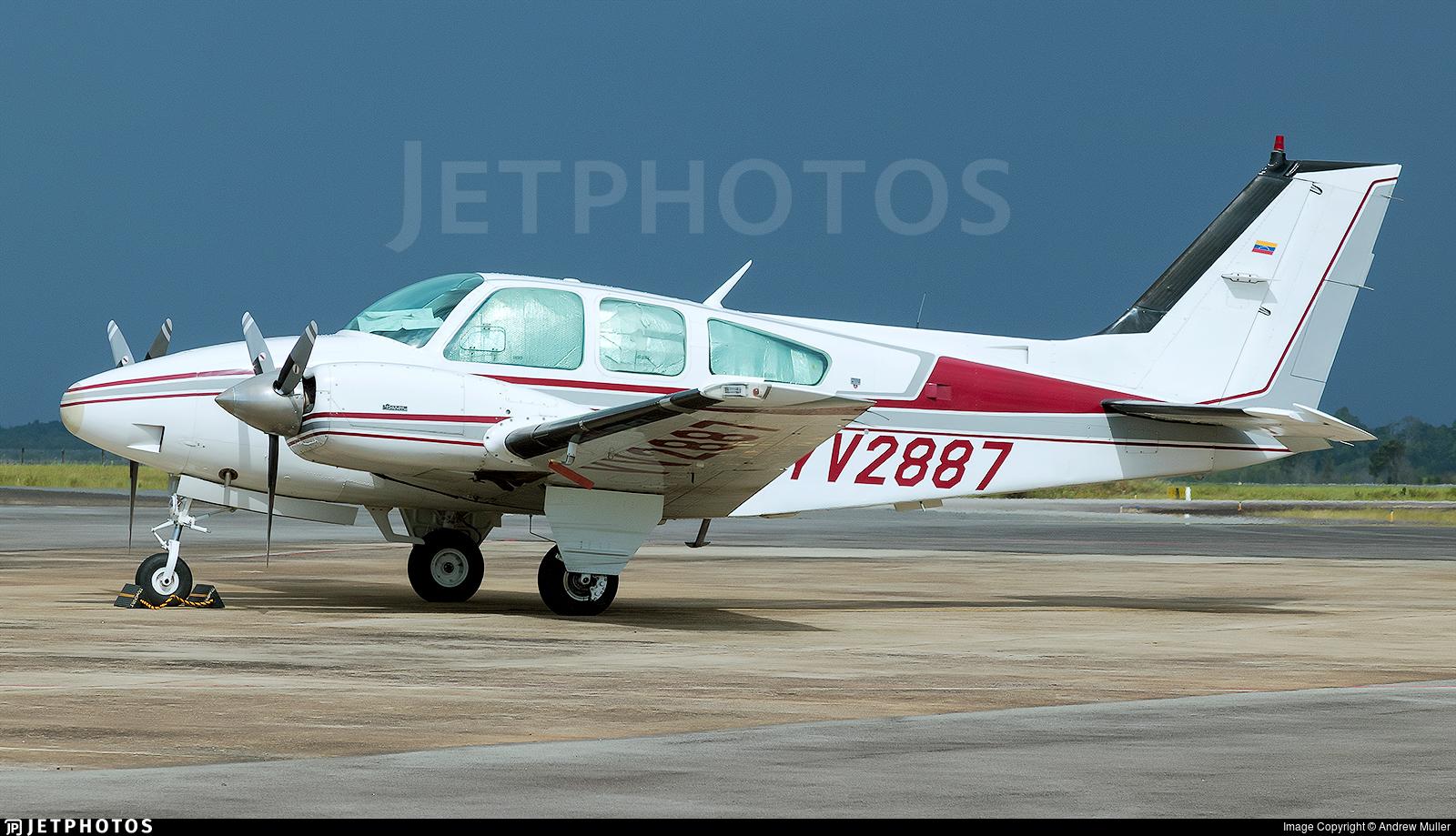 YV2887 - Beechcraft 95-B55 Baron - Private