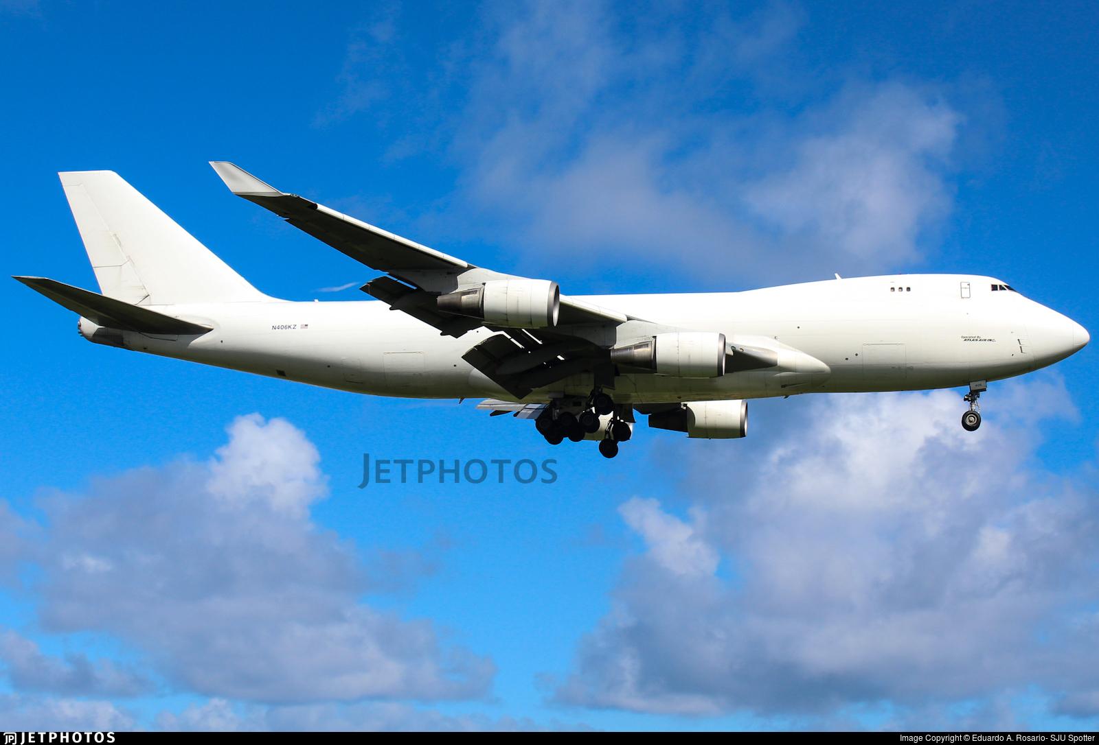 N406KZ - Boeing 747-4KZF(SCD) - Atlas Air