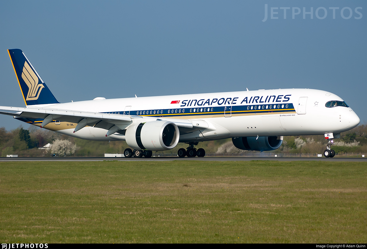 9V-SML - Airbus A350-941 - Singapore Airlines