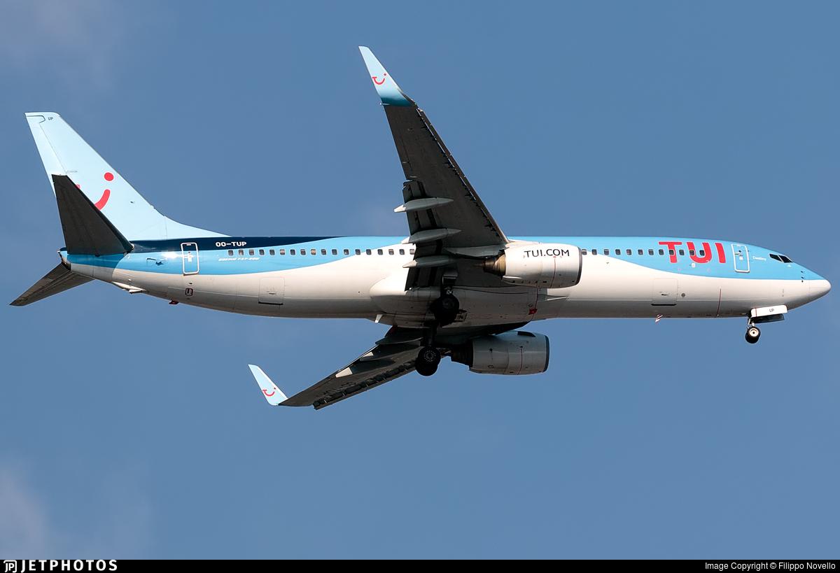 OO-TUP - Boeing 737-85P - TUI