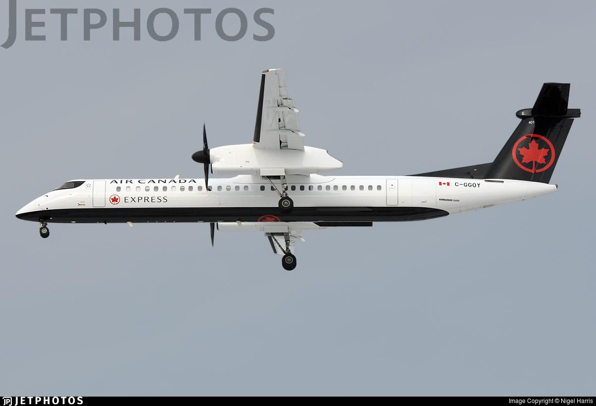 C-GGOY - Bombardier Dash 8-Q402 - Air Canada Express (Jazz Aviation)