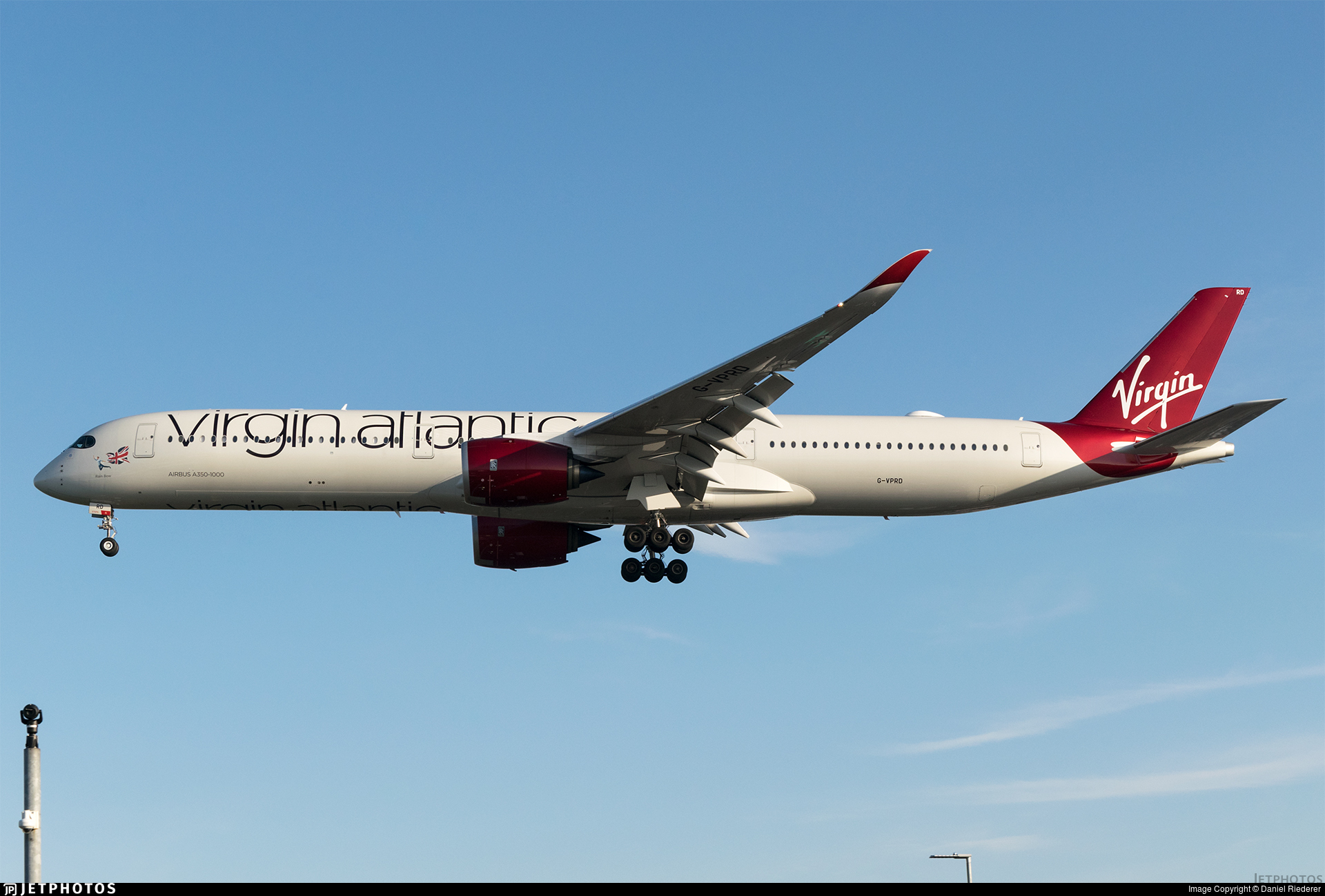 G-VPRD - Airbus A350-1041 - Virgin Atlantic Airways