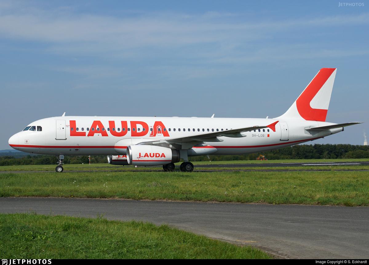 9H-LOB - Airbus A320-232 - Lauda Europe