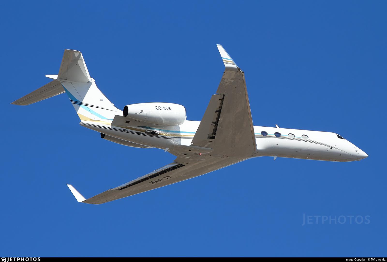 CC-AYB - Gulfstream G550 - Private