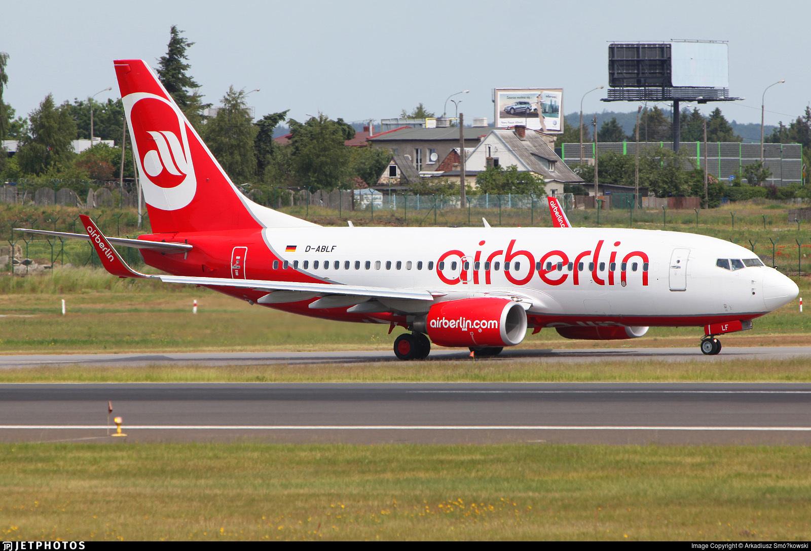D-ABLF - Boeing 737-76J - Air Berlin