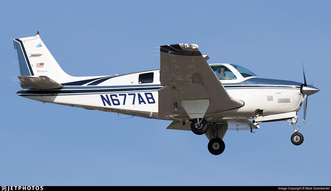 N677AB - Beechcraft B36TC Bonanza - Private