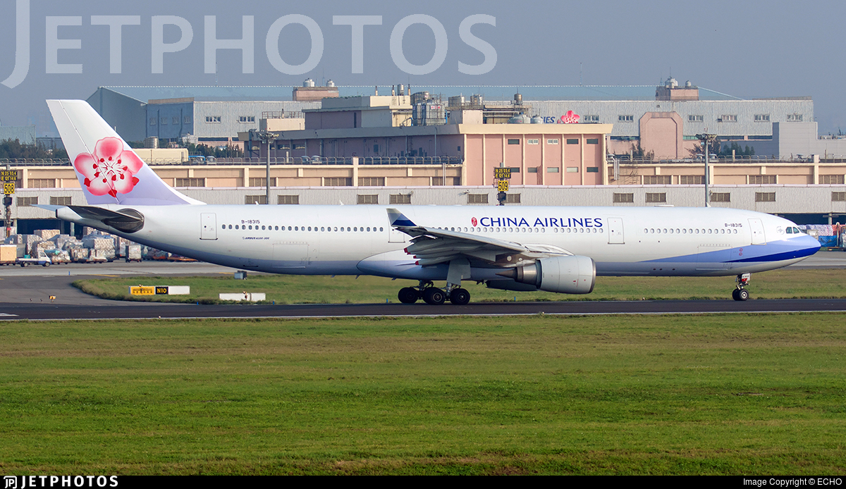 B-18315 - Airbus A330-302 - China Airlines