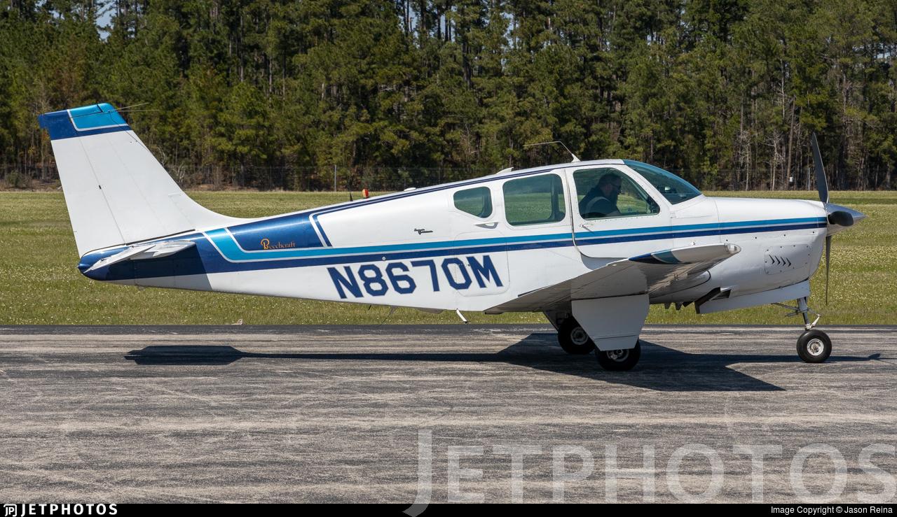 N8670M - Beechcraft 35-B33 Debonair - Private