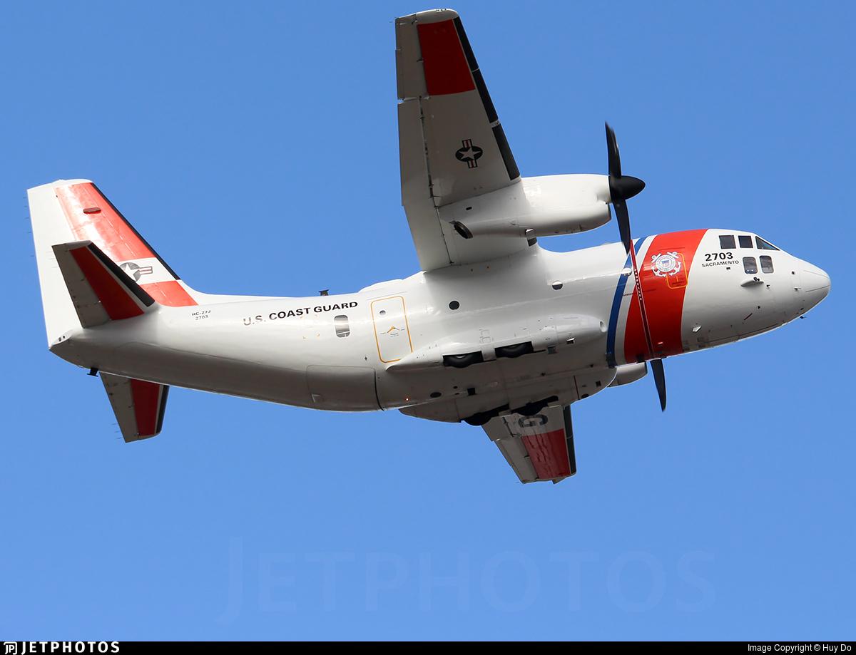 2703 - Alenia C-27J Spartan - United States - US Coast Guard (USCG)