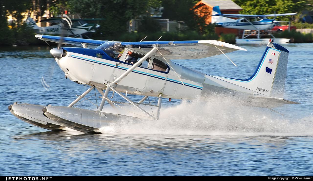 N969KM - Cessna 182A Skylane - Private