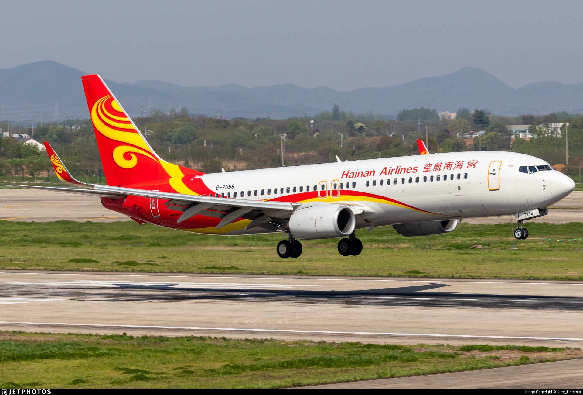 B-7398 - Boeing 737-86N - Hainan Airlines