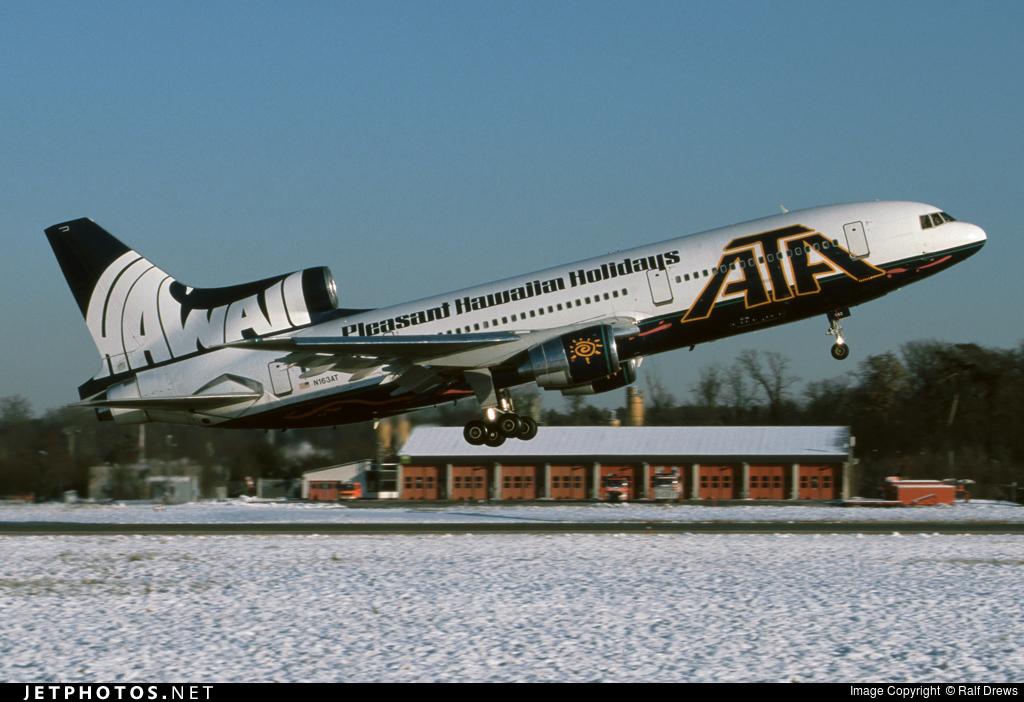 N163AT - Lockheed L-1011-500 Tristar - ATA Airlines