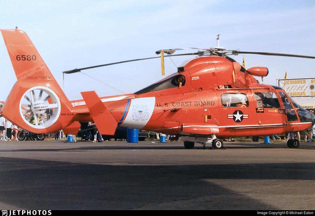 6580 - Aérospatiale HH-65C Dauphin - United States - US Coast Guard (USCG)