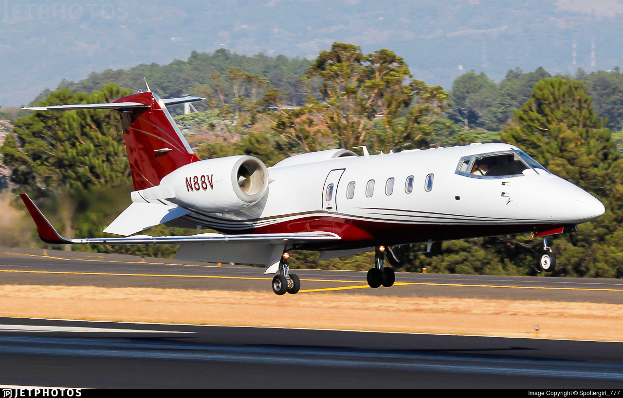 N88V - Bombardier Learjet 60 - Private