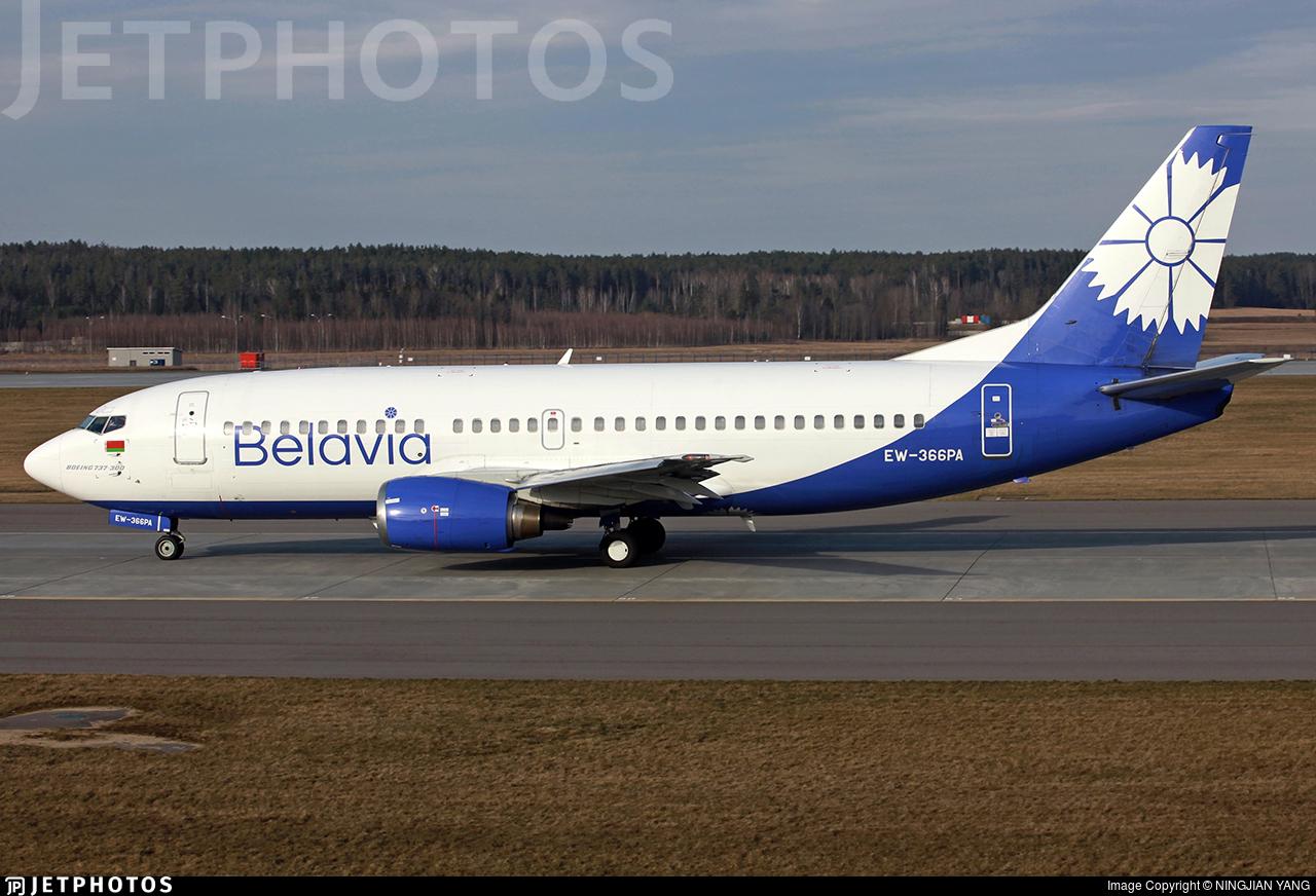 EW-366PA - Boeing 737-31S - Belavia Belarusian Airlines