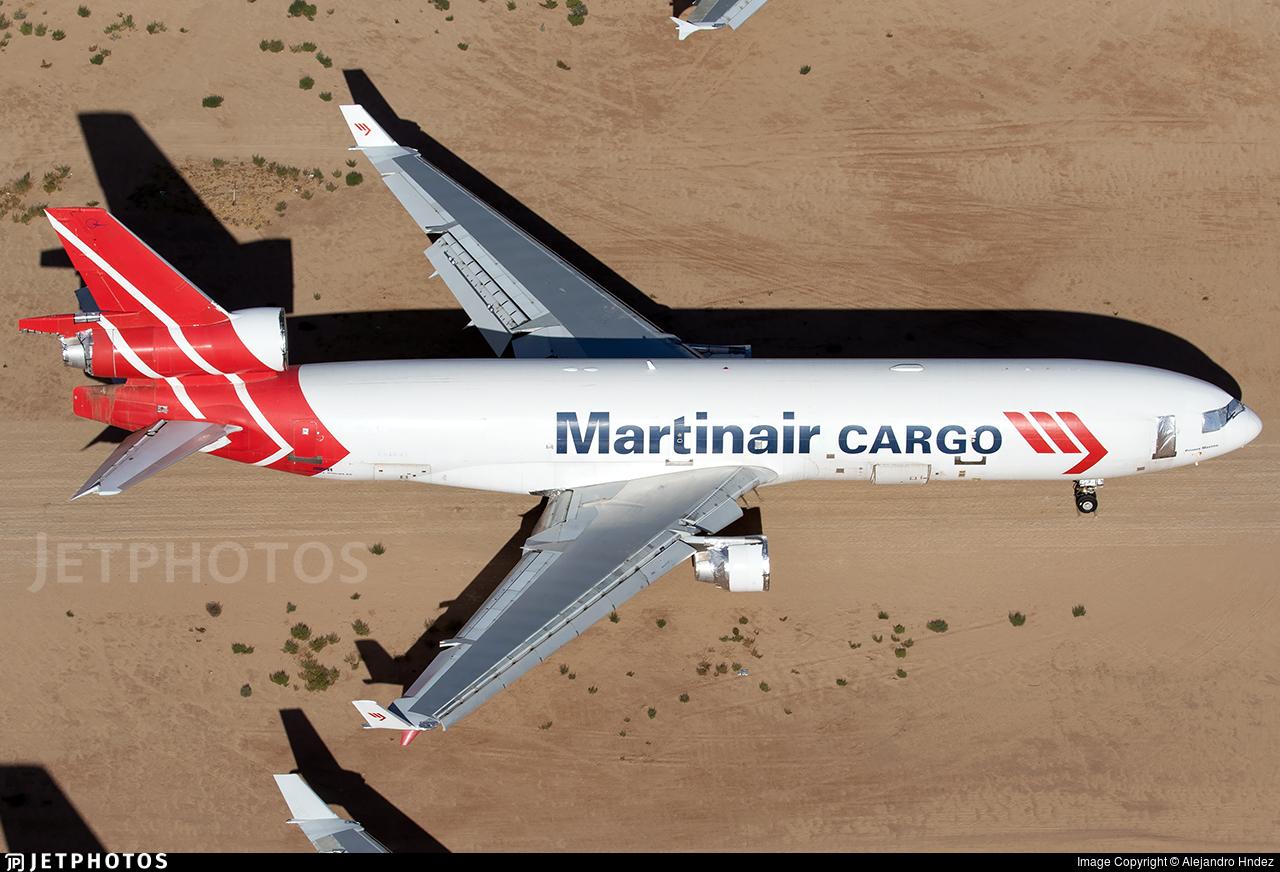 N68091 - McDonnell Douglas MD-11(F) - Martinair Cargo