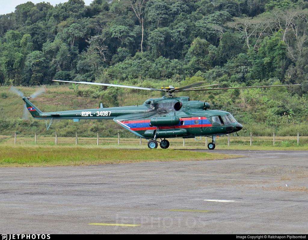 RDPL-34087 - Mil Mi-17V5 Hip H - Laos - Air Force