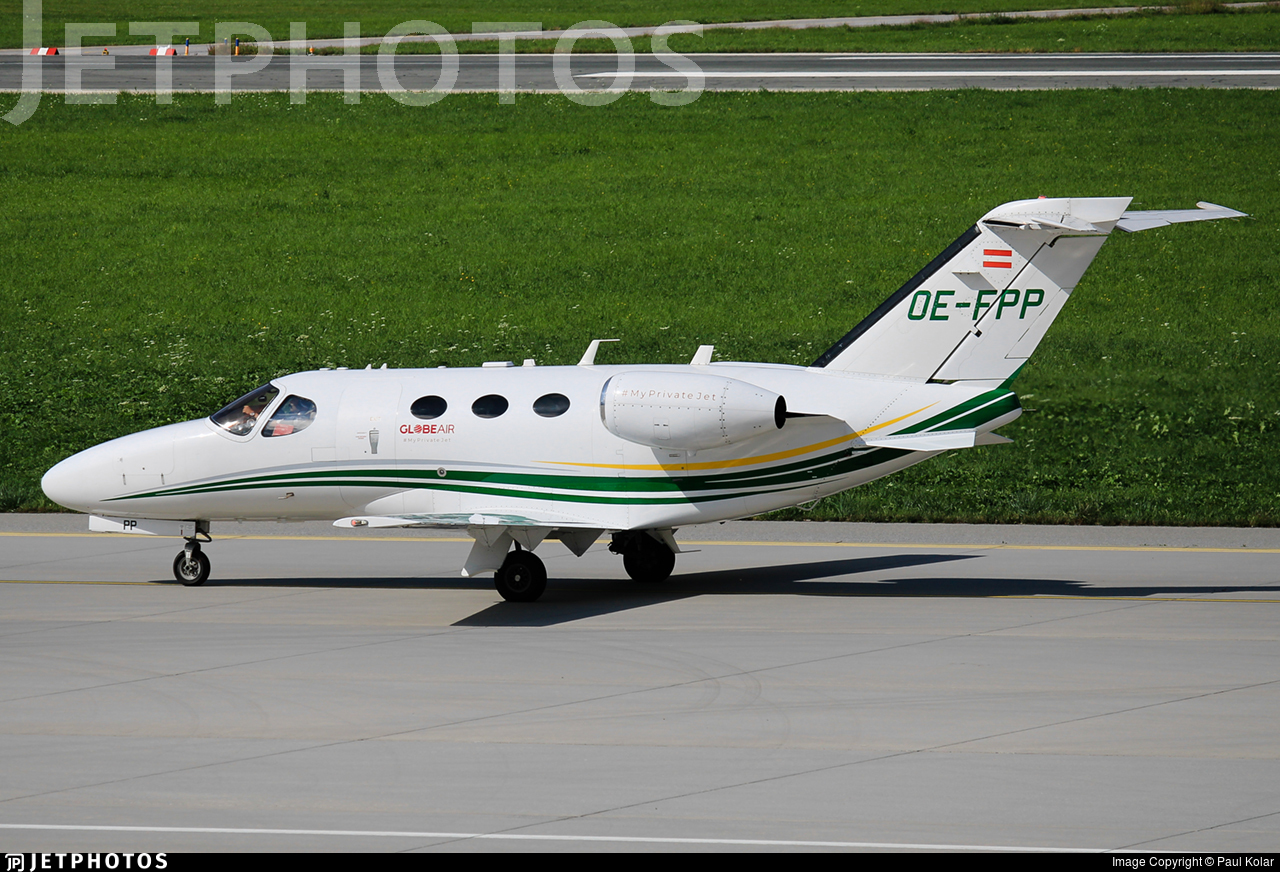 OE-FPP - Cessna 510 Citation Mustang - GlobeAir