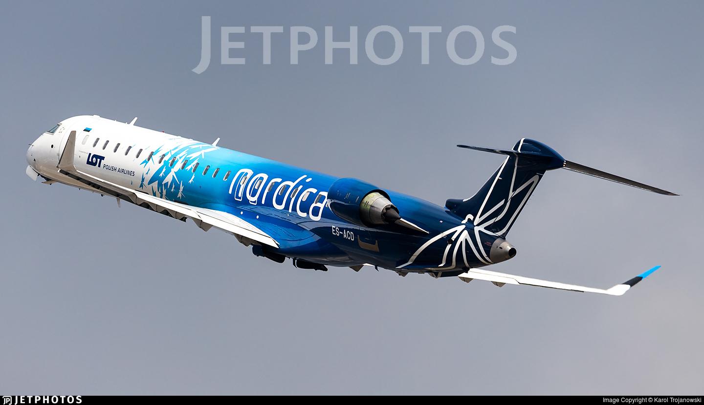 ES-ACD | Bombardier CRJ-900 | Nordica | Karol Trojanowski