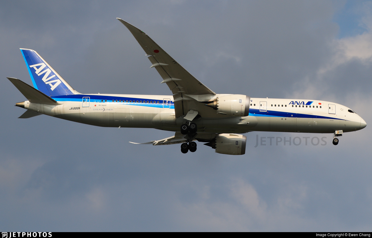 JA888A - Boeing 787-9 Dreamliner - All Nippon Airways (ANA)