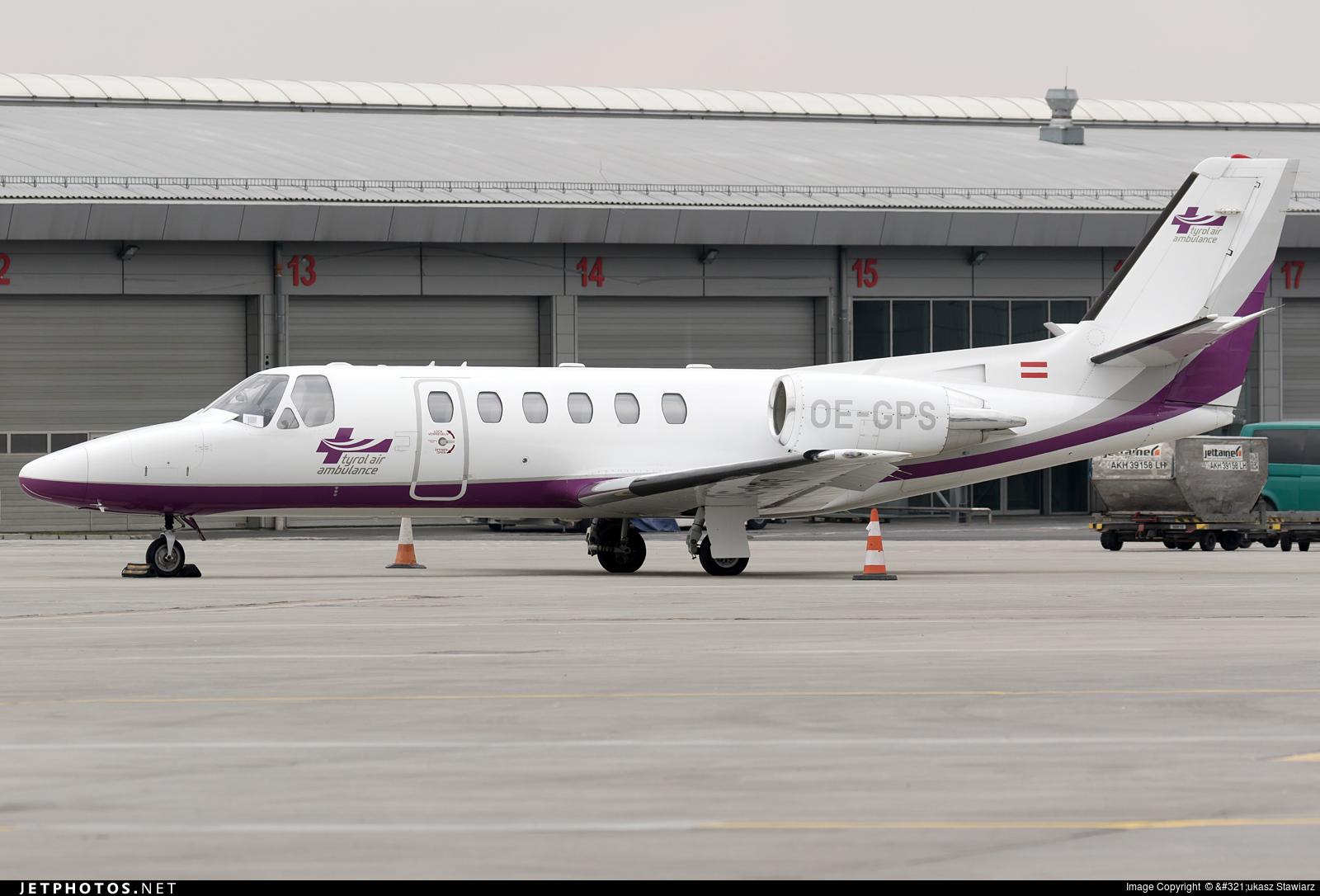 OE-GPS - Cessna 550B Citation Bravo - Tyrol Air Ambulance