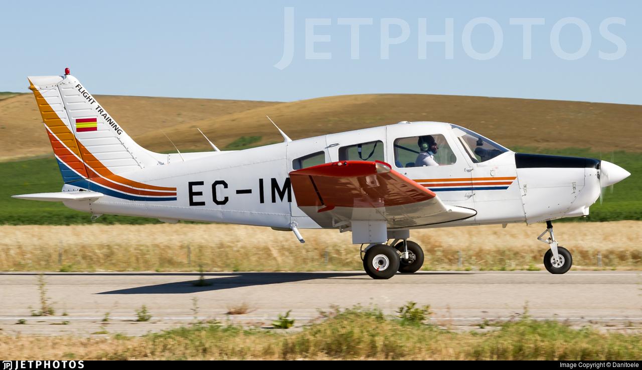 EC-IMQ - Piper PA-28-161 Warrior II - FTE Jerez