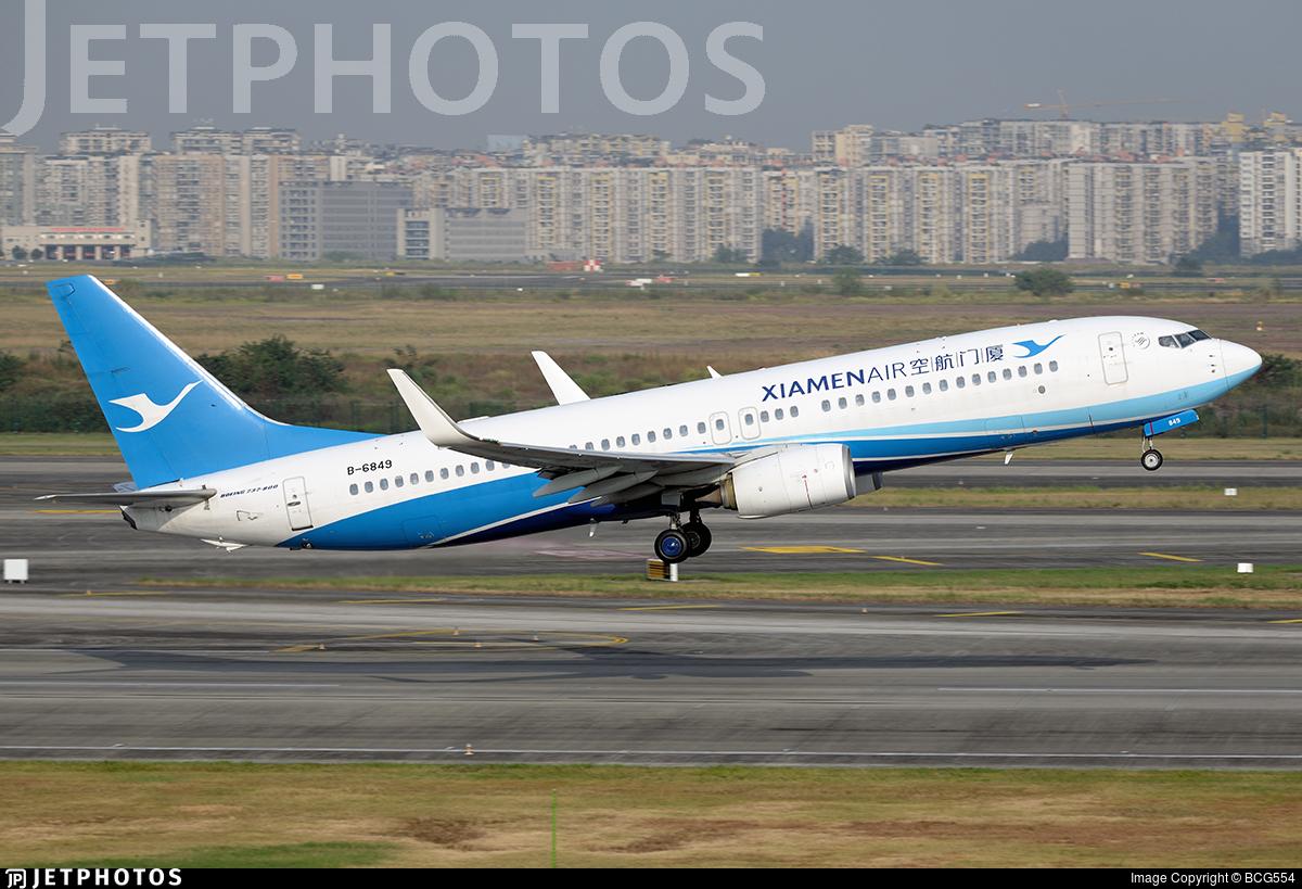 B-6849 - Boeing 737-85C - Xiamen Airlines
