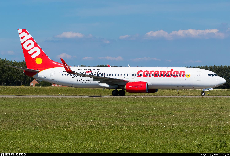 PH-CDE - Boeing 737-8GQ - Corendon Dutch Airlines
