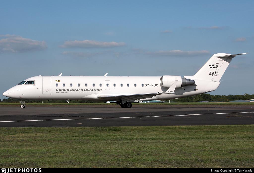 OY-RJC - Bombardier CRJ-100LR - Global Reach Aviation