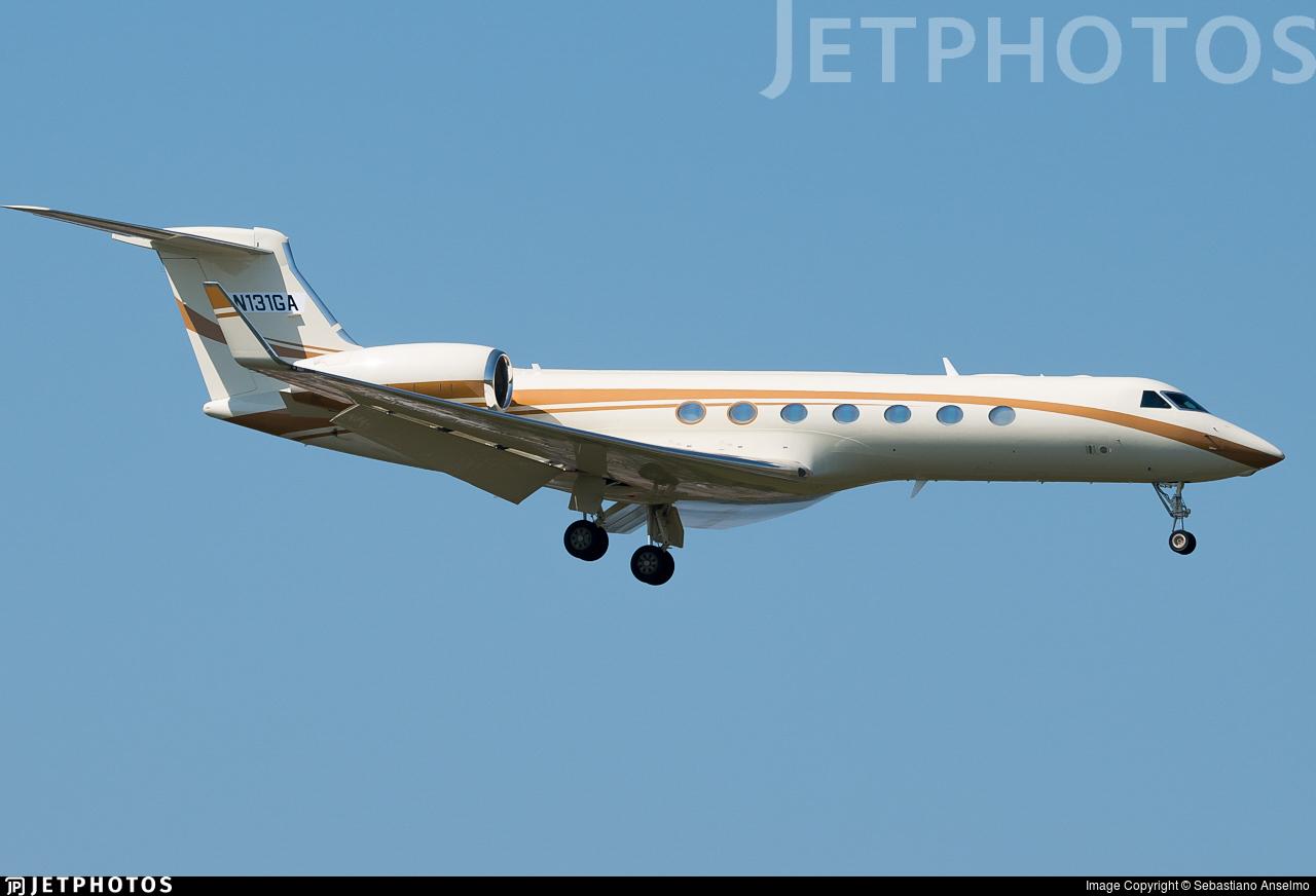 N131GA - Gulfstream G550 - Cite Aviation