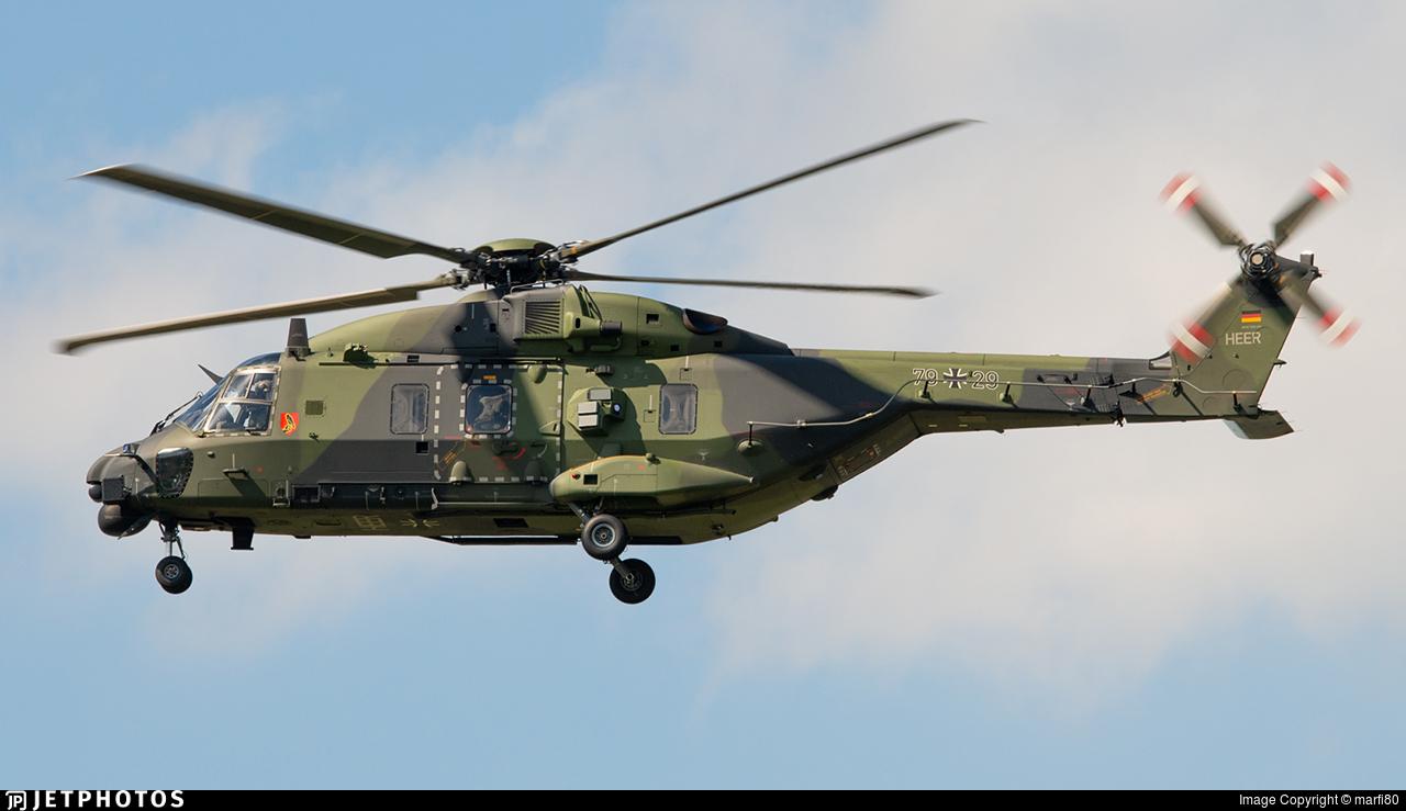 79-29 - NH Industries NH-90TTH - Germany - Army