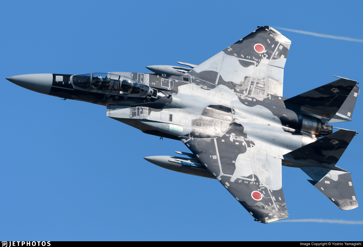 92-8070 - McDonnell Douglas F-15DJ Eagle - Japan - Air Self Defence Force (JASDF)