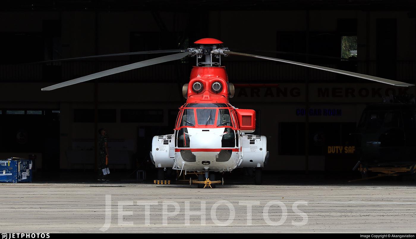 H-3205 - IPTN NAS332L1 Super Puma - Indonesia - Air Force