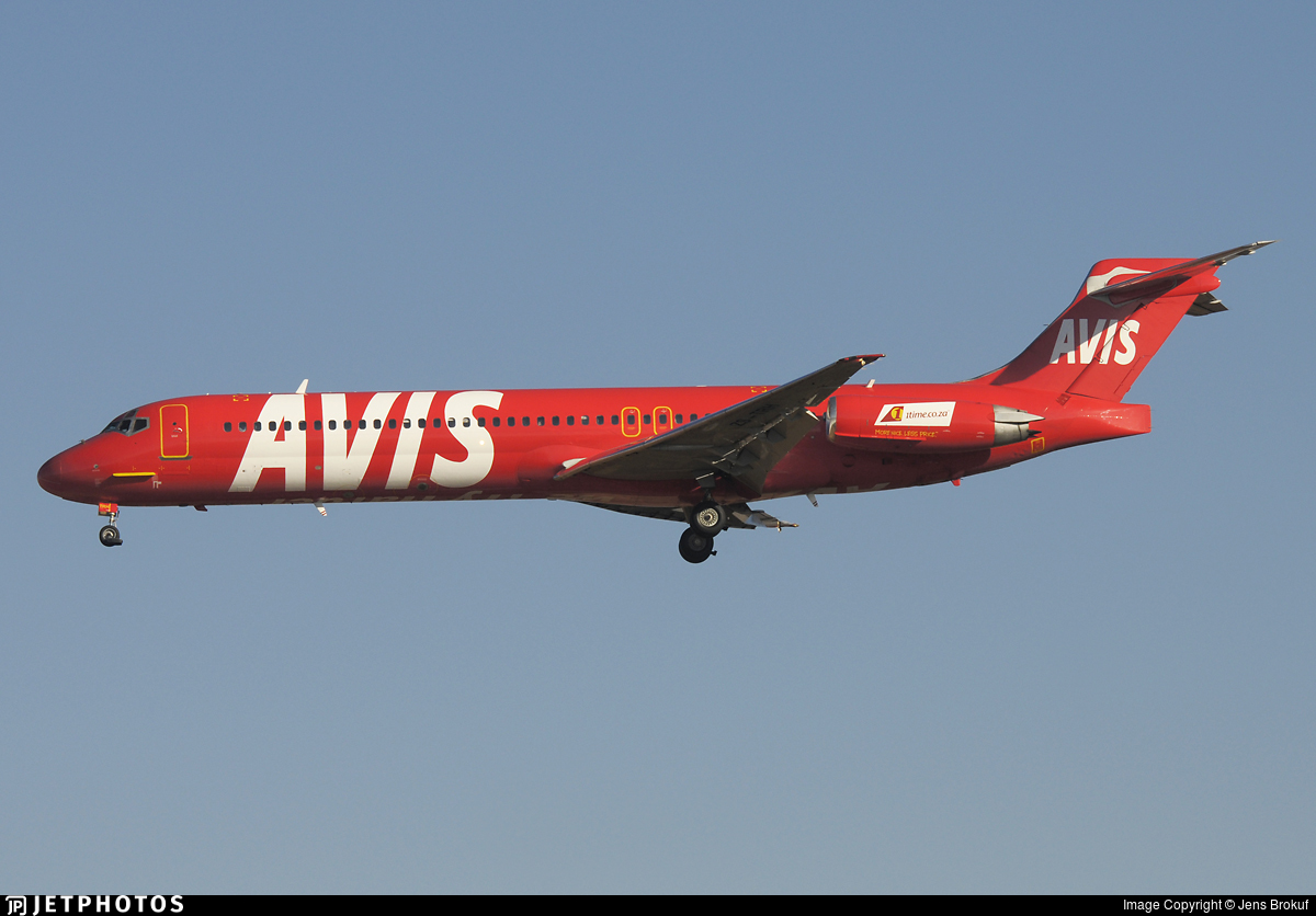 ZS-TRH - McDonnell Douglas MD-87 - 1Time Airline