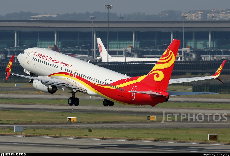 B-1783 - Boeing 737-84P - Hainan Airlines