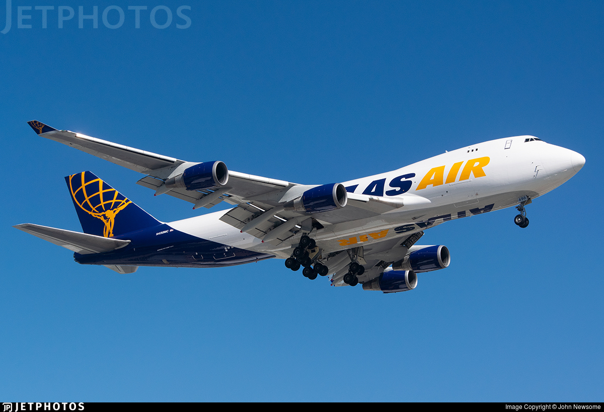 N498MC - Boeing 747-47UF(SCD) - Atlas Air